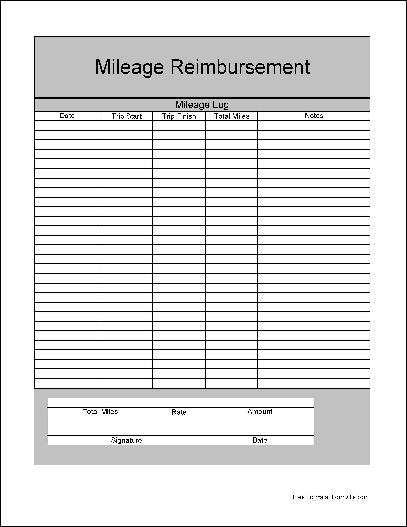 Simple Reimbursement Form  CityEsporaCo