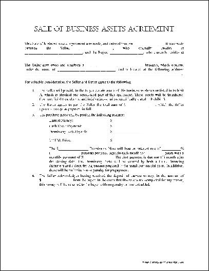 Notary form template contract preview of the quotnotarized sale of business assets agreementquot form wajeb Choice Image