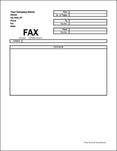 Urgent Fax Cover Sheet To Template Fax Cover Sheet Simple Company