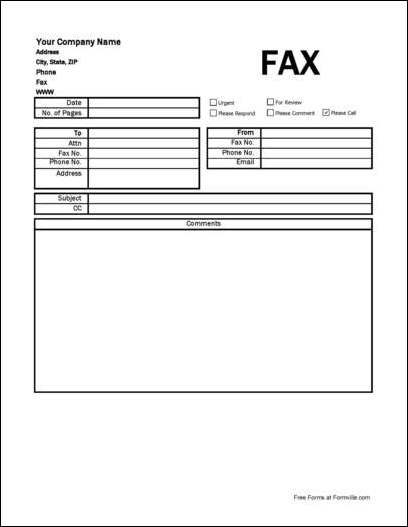 detailed company fax cover sheet from formville you can a pdf version of the quotdetailed company fax cover sheetquot form absolutely you can also for a small payment a fully editable