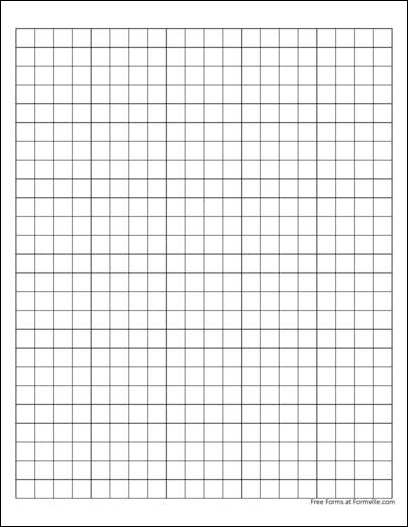 Free Graph Paper 1 Centimeter Solid Black from Formville – Ms Word Graph Paper