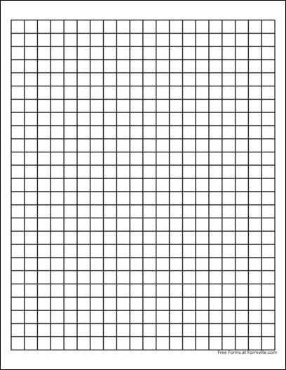Free Graph Paper 1 Centimeter Heavy Black from Formville – Download Graph Paper for Word