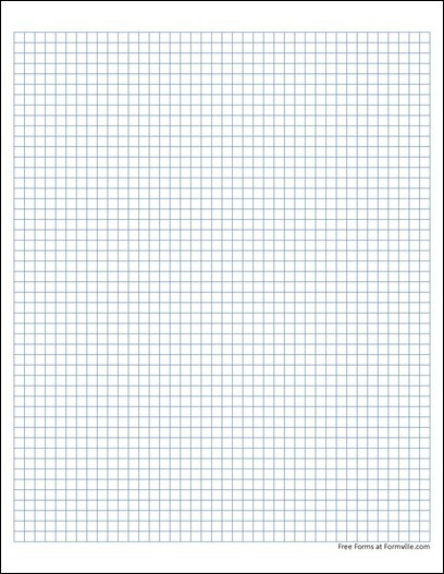 free graph paper 5 squares per inch solid blue from formville