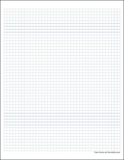 free graph paper  5 squares per inch dashed blue  from