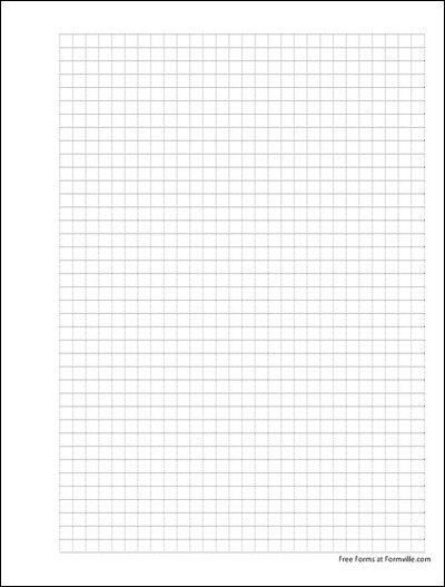 free punchable graph paper  4 squares per inch dashed