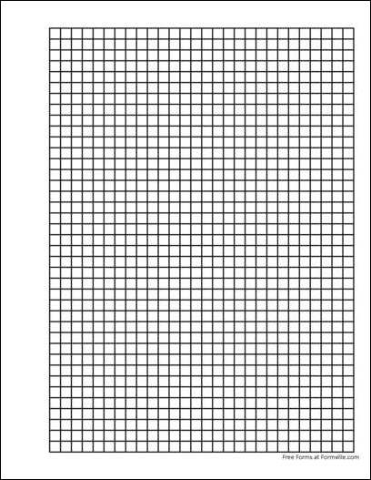 free 1 4 inch graph paper