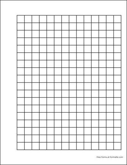 Free Punchable Graph Paper (2 Squares per Inch Heavy Black) from ...