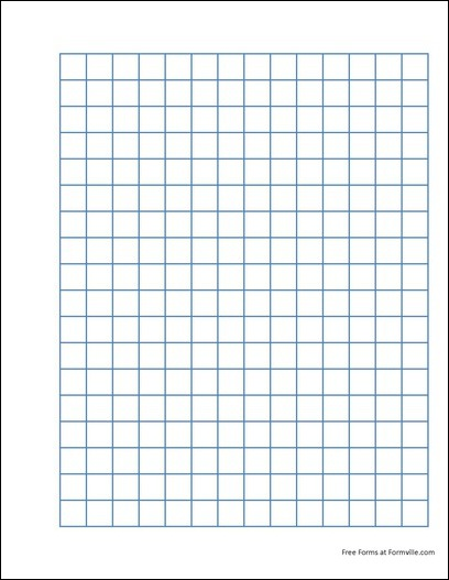 "... of the ""Punchable Graph Paper (2 Squares per Inch Heavy Blue)"" form"
