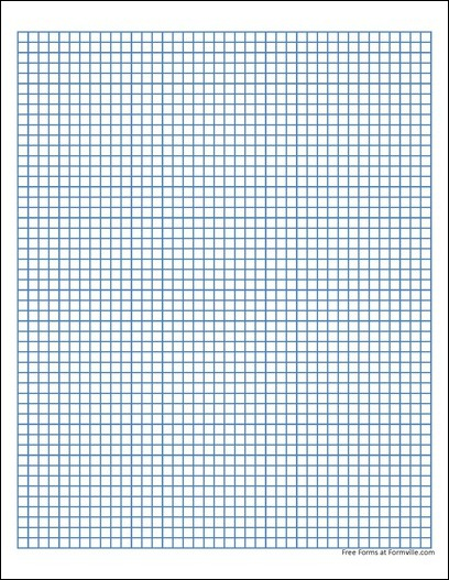 free graph paper  5 millimeter heavy blue  from formville