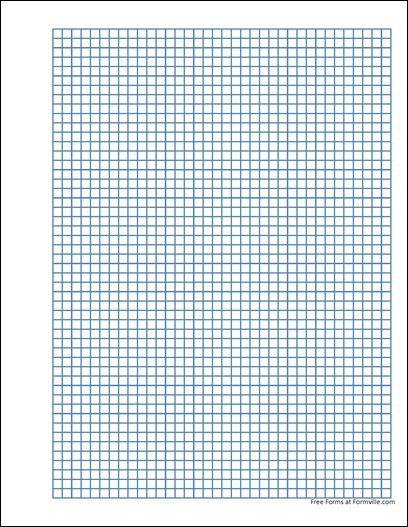 free punchable graph paper 5 millimeter heavy blue from formville