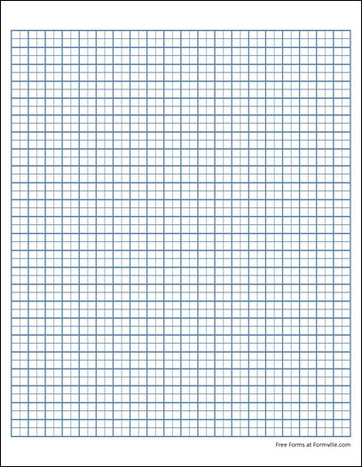 Free Graph Paper from Formville