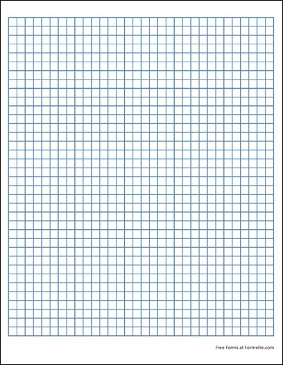 free quad paper 4 squares per inch blue from formville