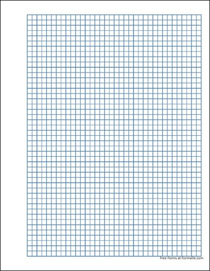 Free punchable quad paper 5 millimeter blue from formville for Formville
