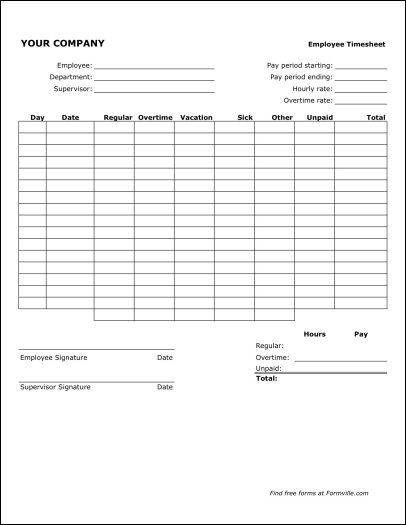 Sample Payroll Timesheet. Sample Employee Timesheet Calculator ...